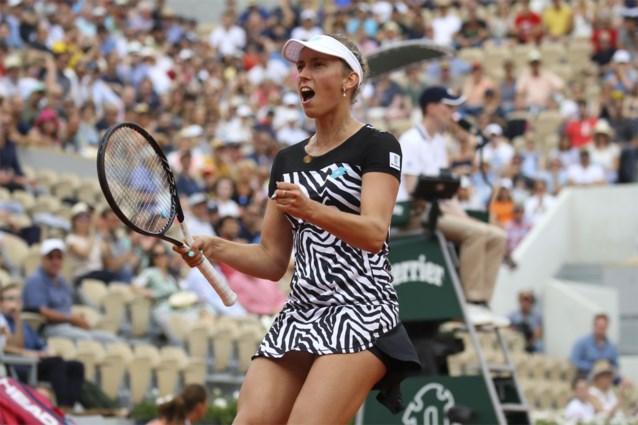 Elise Mertens blijft winnen in het dubbelspel op Roland Garros, eerste plaats op dubbelranking lonkt