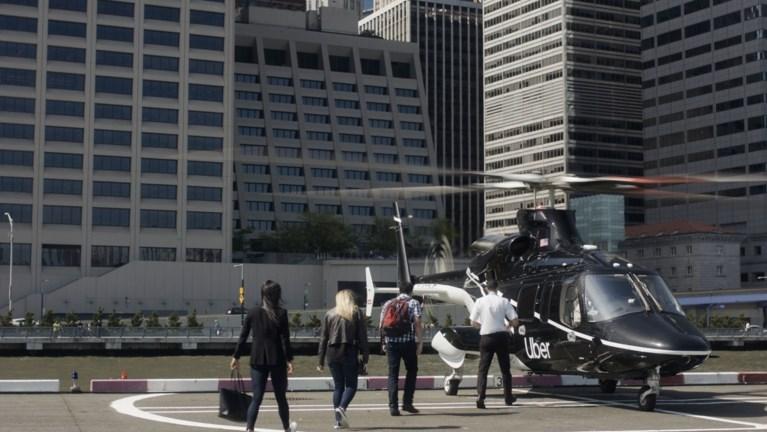 Uber gaat passagiers per helikopter vervoeren in New York