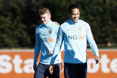 De prinsen van Oranje: hele voetbalwereld is jaloers op Nederlands centraal verdedigingsduo Van Dijk-De Ligt
