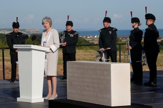 Twaalfduizend mensen, onder wie Donald Trump, herdenken D-Day in Normandië