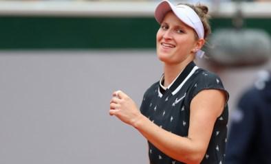 19-jarige Vondrousova plaatst zich als eerste voor vrouwenfinale op Roland Garros