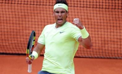 Rafael Nadal laat Roger Federer weinig kans, tweede halve finale stopgezet door de regen