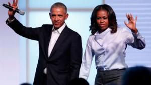 Barack en Michelle Obama gaan podcasts maken voor Spotify