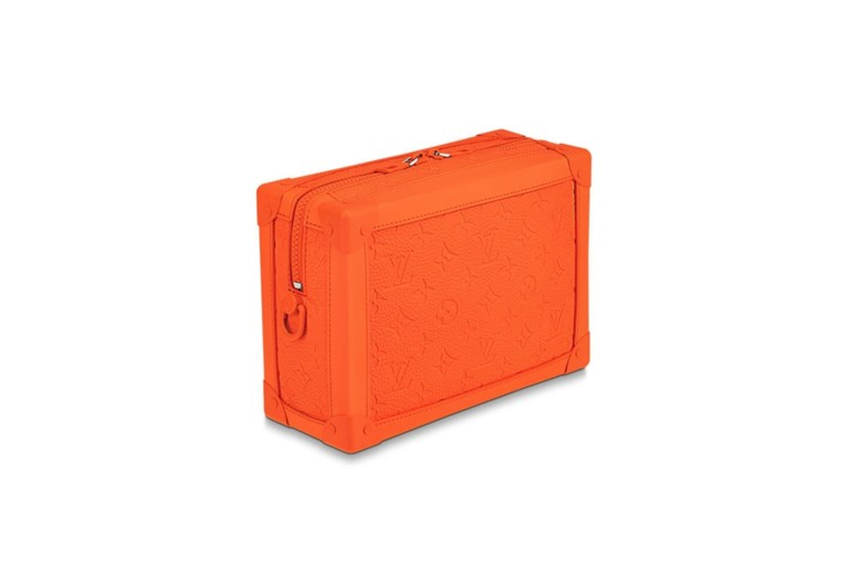 Louis Vuitton wijdt hele collectie aan de kleur oranje