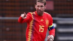 Sergio Ramos breekt internationaal record met Spanje na zege tegen Faeröer-eilanden (en viert dat met een doelpunt)