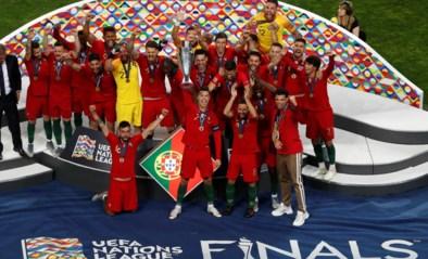 Portugal wint allereerste UEFA Nations League na teleurstellende finale tegen Nederland