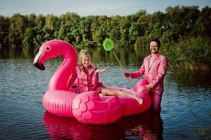 Han Coucke en Griet Dobbelaere winnen met Han en Grietje zowel publieks- als juryprijs op Utrechts Cabaretfestival