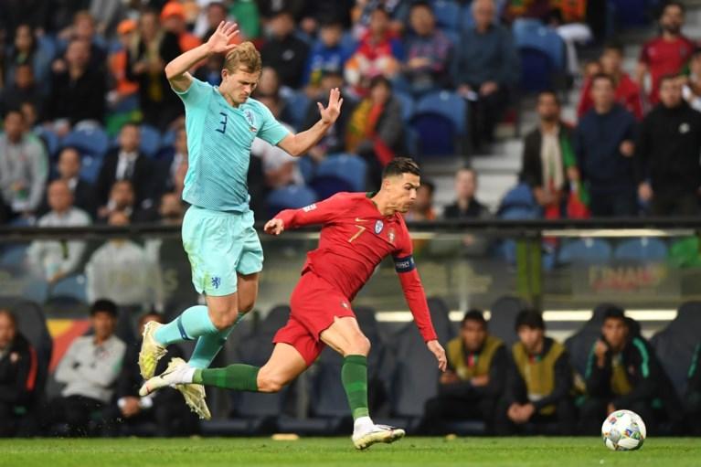 """Supertalent Matthijs de Ligt krijgt advies van niemand minder dan Cristiano Ronaldo: """"Ik schrok er een beetje van"""""""