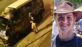 """Australische politie verspreidt laatste beelden van vermiste Belg: """"Iemand moet Theo gezien hebben nadat hij nachtclub verliet"""""""