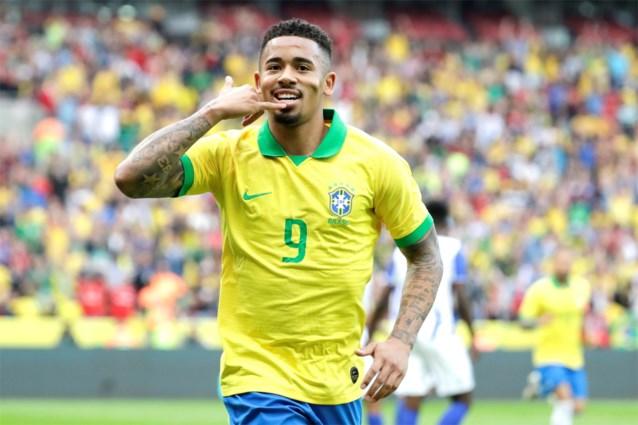 Brazilië is ook zonder Neymar klaar voor Copa America: 7-0 in laatste oefenwedstrijd