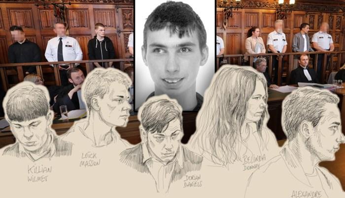 Nooit toonden ze berouw, maar nu jury oordeelt over de beulen die Valentin folterden tot de dood, vloeien de tranen
