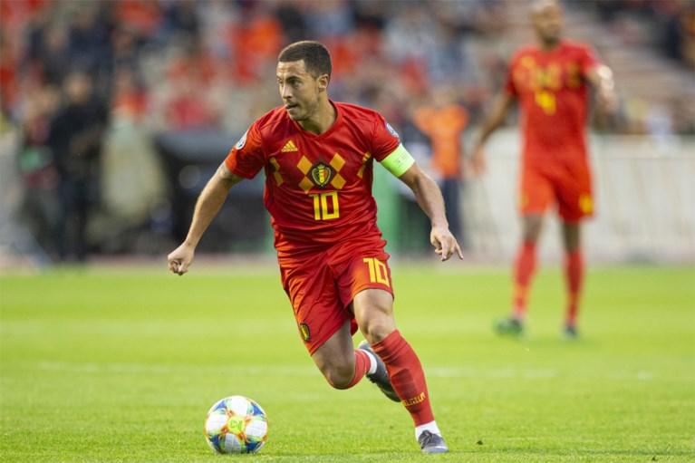 """Schotse kranten onder de indruk van """"briljante"""" Rode Duivels, in Spanje zijn ze lyrisch over """"supermodel"""" Hazard"""