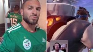Een spelletje om snel te vergeten: blote kont op Fornite kost Algerijn Haris Belkebla deelname aan de Afrika Cup
