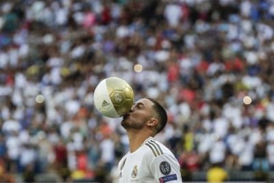 """Onze man was erbij op Real Madrid toen 50.000 Spanjaarden in zwijm vielen voor Eden Hazard: """"Je bent thuis, jongen"""""""