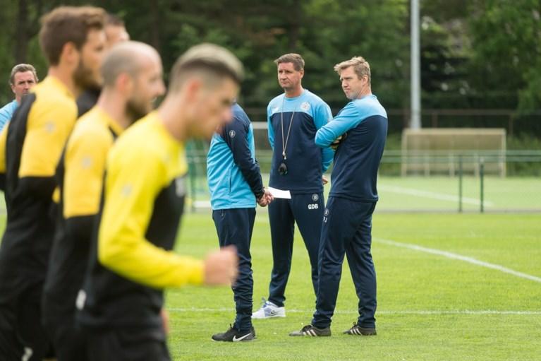 Ze weten nog niet waar ze zullen spelen maar Lokeren hervat nu al de trainingen, met Lorenzo Staelens als assistent