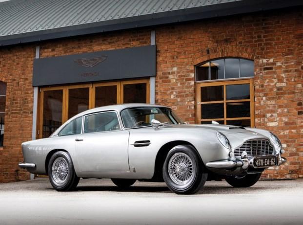 Te koop: iconische Aston Martin uit 'Goldfinger'