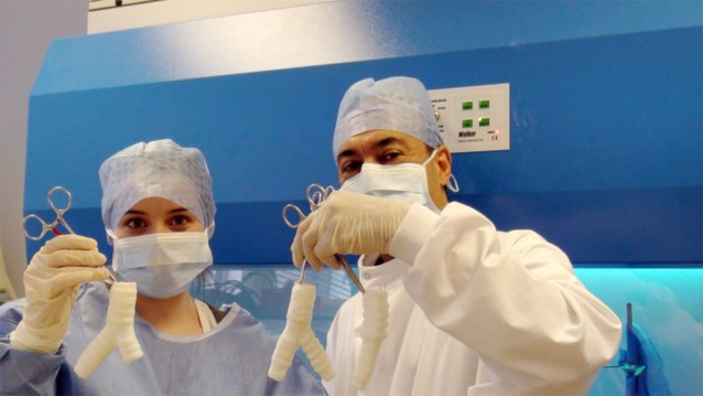 Vlaamse chirurgen verwijderen stukje luchtpijp met robot