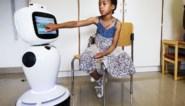 Patiëntjes met suikerziekte krijgen gezelschap van robot op kamer