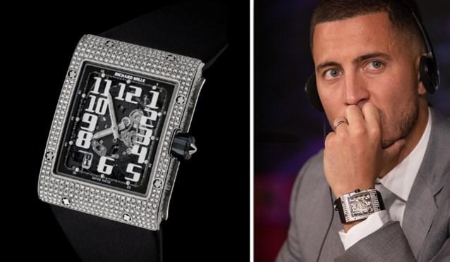 """Hazard maakte indruk tijdens zijn presentatie, zijn horloge van 150.000 euro iets minder... """"Oerdegelijk, maar geen verzamelaarsobject"""""""