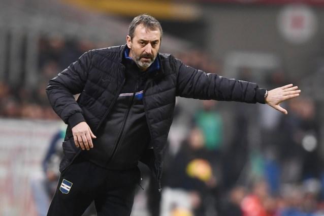 Dennis Praet krijgt een nieuwe coach: Sampdoria neemt afscheid van Marco Giampaolo