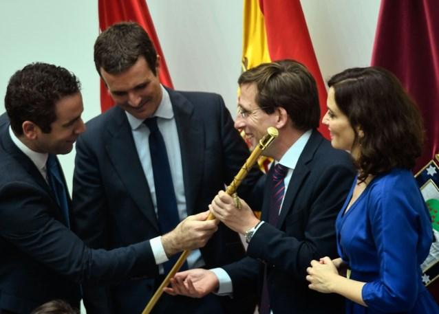 Madrid krijgt conservatieve burgemeester met steun van extreemrechts