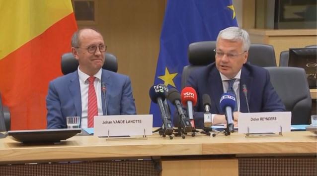 Informateurs Reynders en Vande Lanotte zetten opdracht verder tot 1 juli