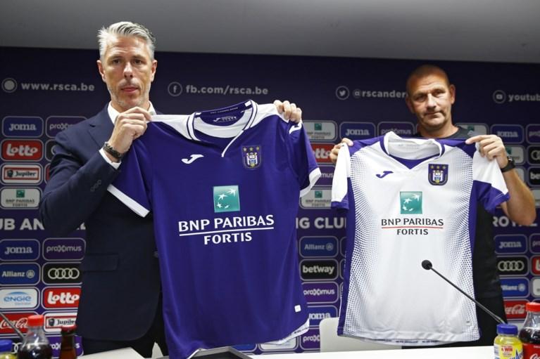 Dit zijn de nieuwe shirts van Anderlecht: Vincent Kompany draagt nummer 4, achter de schermen bij zijn eerste fotoshoot