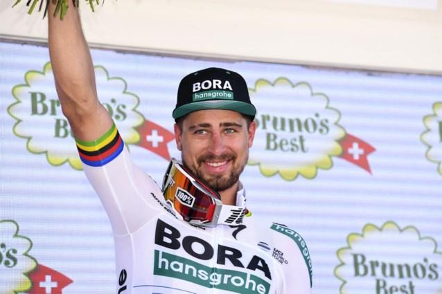 """Sagan is nieuwe leider in Zwitserland: """"Maar toch liever het geel in de Ronde van Frankrijk"""""""