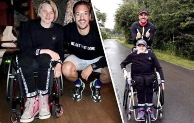 Johannes is 12, verlamd en gaat 420 km fietsen, 84 km lopen en 10 km zwemmen