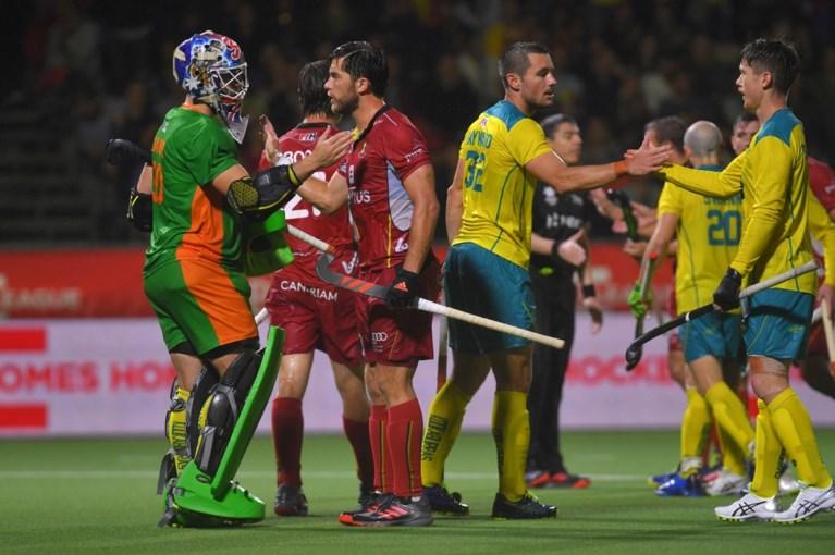 Red Lions lijden 0-2 nederlaag tegen Australië in striemende regen