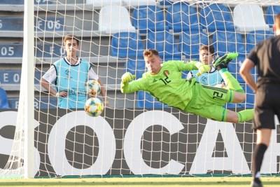 Onze punten voor de Jonge Duivels tegen Spanje: hoogste score voor de keeper