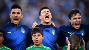 Italiaanse beloften zingen luid hun volkslied mee, voor sommigen zelfs té luid...
