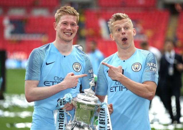 Zinchenko verlengt tot 2024 bij Manchester City
