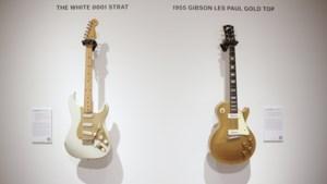 Recordprijzen op veiling van gitaren Pink Floyd