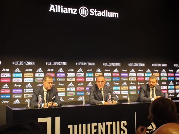 """Maurizio Sarri voorgesteld als nieuwe coach van Juventus: """"Bekroning van een lange carrière"""""""