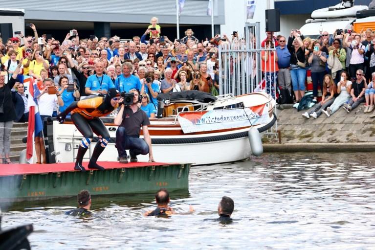 Het zomert maar Nederland is in de ban van Elfstedentocht… van zwemmer Maarten Van der Weijden
