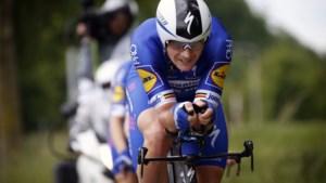 Yves Lampaert klopt wereldkampioen Rohan Dennis en wint tijdrit in Ronde van Zwitserland