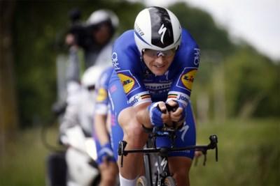 """Yves Lampaert na proloog Ronde van Zwitserland: """"Niet eens zeker dat Campenaerts het BK tijdrijden wint"""""""