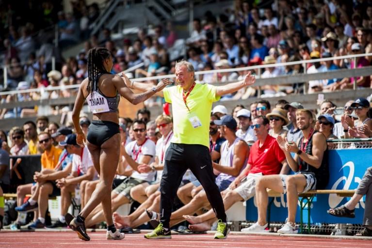 Nafi Thiam pakt olympisch ticket in haar op één na beste zevenkamp ooit, en dat met een elleboogblessure