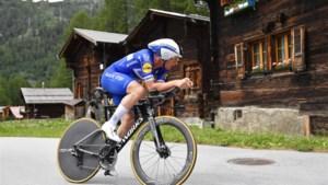"""Yves Lampaert na zege in Zwitserland plots bij de topfavorieten voor het BK tijdrijden: """"Had me er al bij neergelegd dat Van Aert en Campenaerts te sterk zouden zijn"""""""