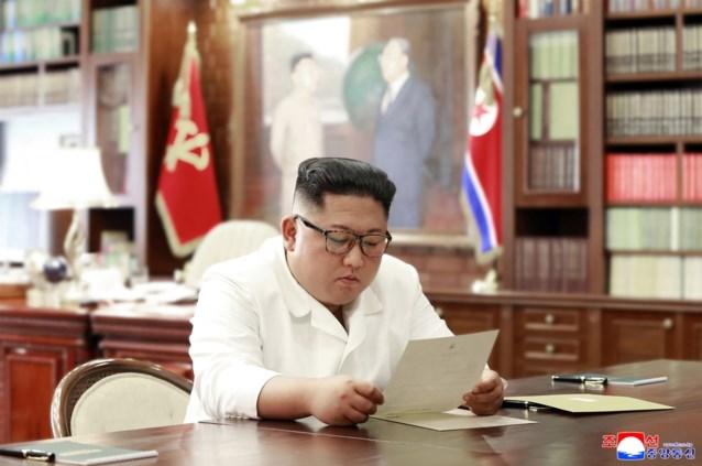 Kim Jong-un ontvangt persoonlijke brief van Donald Trump