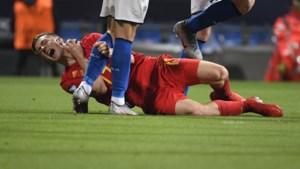 """Jonge Duivels razend op de ref na verlies van Italië op EK U21: """"Hij zei dat het geen rood was omdat Chiesa elders heen kijkt"""""""