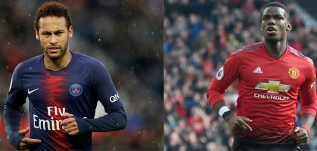 TRANSFERGERUCHTEN. PSG wil Neymar ruilen voor Pogba, Mignolet blijft bij Liverpool