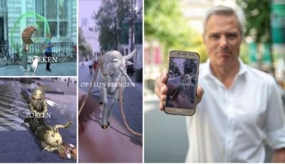 """Onze reporter test 'Pokémon Go voor Harry Potter-fans': """"En plots staat er een eenhoorn in het midden van de Meir"""""""