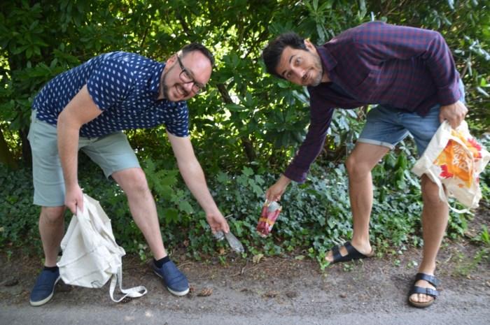 """Televisiemaker Dieter Coppens wandelt en jogt om zwerfvuil op te rapen: """"Alleen dierenkadavers laat ik liggen"""""""