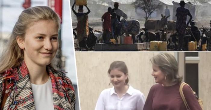 Kroonprinses Elisabeth in het grootste geheim met koningin Mathilde op buitenlandse missie