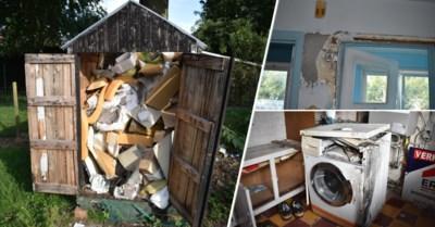 Uitgebrande wasmachine, urine in de kasten en tuinhuis vol rommel: huurders laten ravage achter in woning