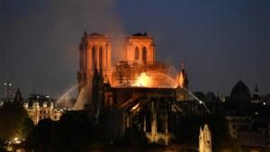 Geen kwaad opzet bij brand Notre-Dame