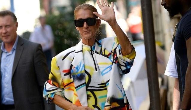 Hittegolf? Céline Dion laat simpelweg haar broek thuis