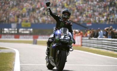 Maverick Vinales haalt het voor Marquez in MotoGP in Nederland